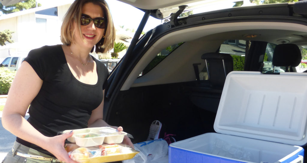 Meals on Wheels Orange County - Starting our delivery