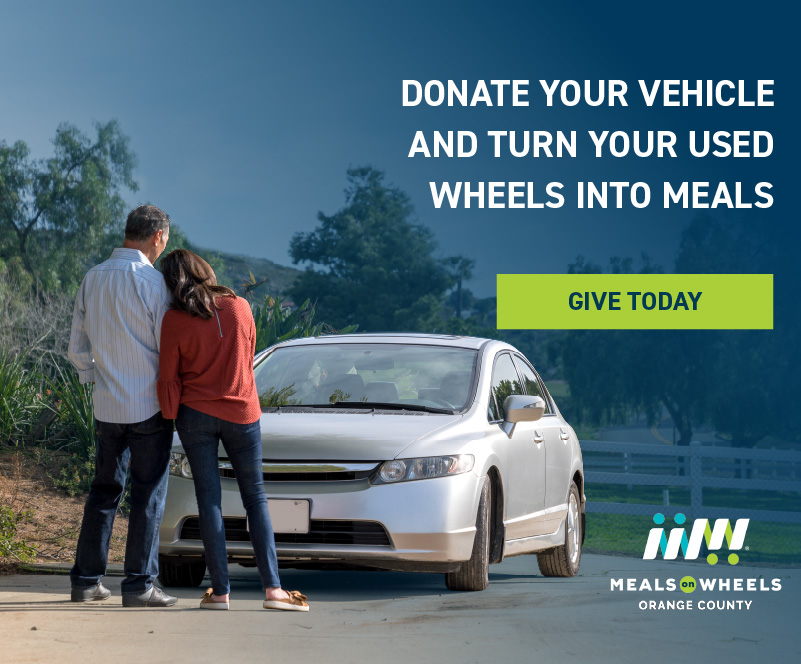 Donate your vehicle and turn your used wheels into meals