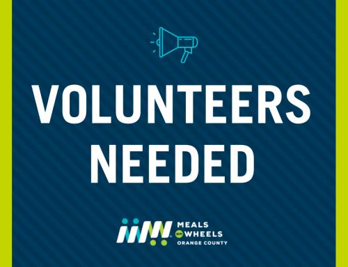 Volunteers Critically Needed!